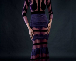 #KekeFashion: Sheer & Leather: Weizdhurm Franklyn Pre-Fall 2016 Collection (Lookbook)