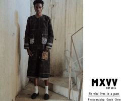 #KekeFashion: MXVV (Maxivive) Introduces Dry16 'He Who Lives in a Pant' (Lookbook)