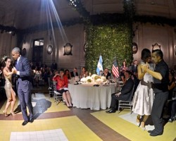 #KekeGist: President Barack Obama and First Lady Michelle Obama Nail the Tango in Argentina: Watch