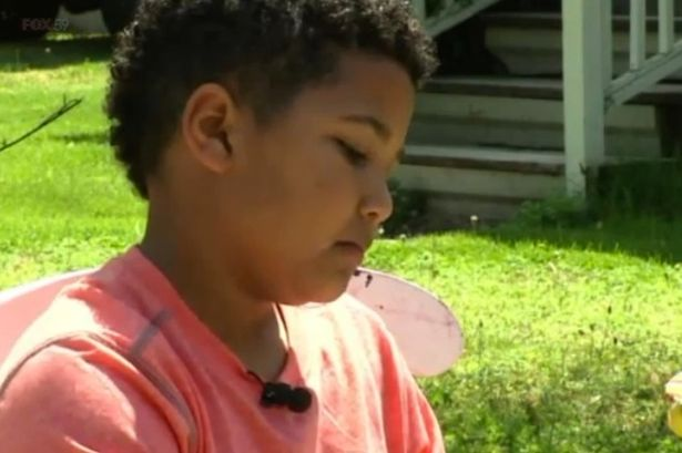 #KekeGist: 9-year-old boy starts lemonade stand to pay for his own adoption (See Photos)