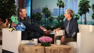Blake Shelton Talks Singing Duet With Gwen Stefani: 'We Did Kind of Laugh'