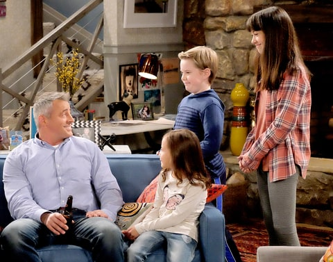 Matt LeBlanc in 'Man With A Plan.'