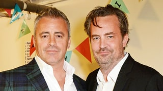 Matthew Perry Reunites With 'Friends' BFF Matt LeBlanc