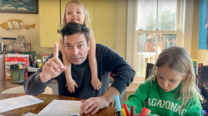 How Jimmy Fallon Feels About Daughters Crashing Interviews Amid Quarantine