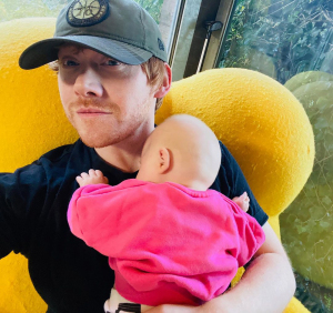 Rupert Grint Reacts to Smashing Jennifer Aniston's Record for Reaching 1 Million Instagram Followers, Credits Daughter Wednesday